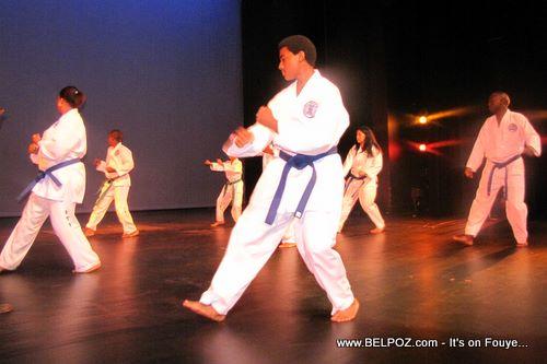 The Haitian Karate Kids