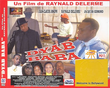 Dyab Baba Official DVD Cover