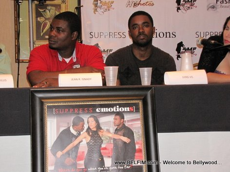 Movie Press Conference - Suppress Emotions