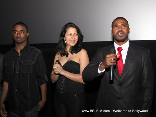 Suppress Emotions Movie Premiere - Movie Stars Presentation