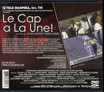 le Cap A La Une Official DVD Cover - Back