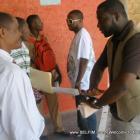 Johnny Fleurinord Visits A School In Haiti