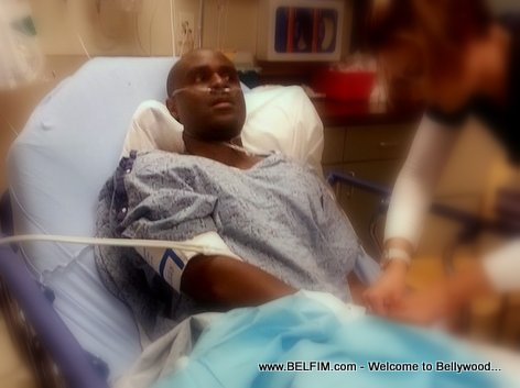 Haitian actor Marson Sam in the Hospital for second degree burn