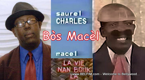 PHOTO: Haitian Actor Saurel Charles (Bos Macel) from Lavi Nan Bouk la - Before and After