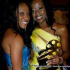 Falia Justima and Sandra Bellefleur at the African Oscars
