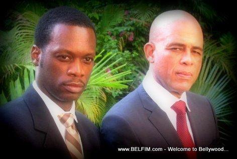 PHOTO: Pras Michel and Michel Martelly