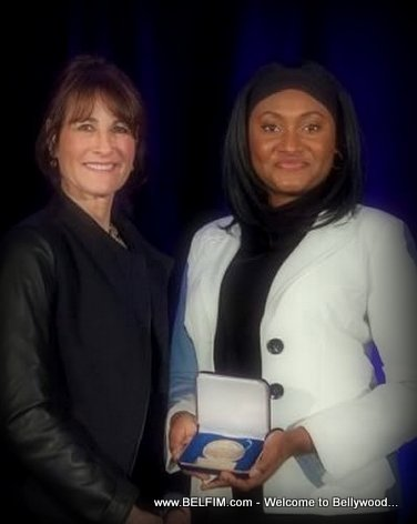 PHOTO: Fabienne Colas awarded National Assembly Medal in Canada