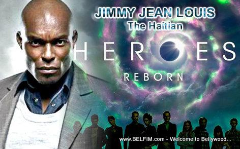 Jimmy Jean Louis - Heroes Reborn Poster