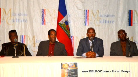 PHOTO: Haiti - La Vie Nan Bouk La Actors at Ministere de la Culture