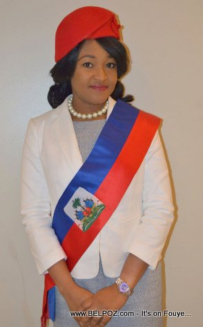 PHOTO: Actress Nice Simon, New Mayor of Tabarre