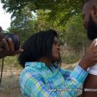Kado Bondye Movie - Behind the Scenes Photo