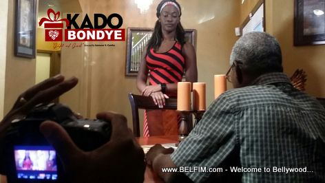 Kado Bondye Movie - Behind the Scenes Photo