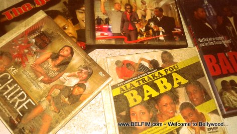 PHOTO: Old Haitian Movies on DVD