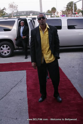 Marc Anthony Delerme on the Red Carpet