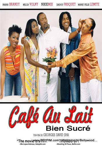 Cafe au Lait Bien Sucre Poster