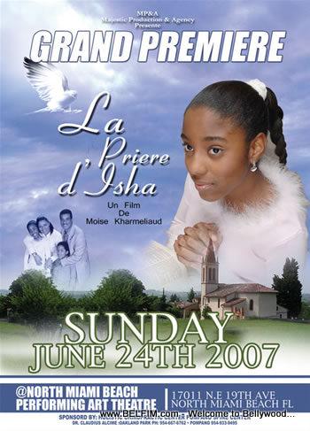 Isha's Prayer Grand Premiere Poster