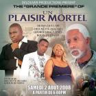 Un Plaisir Mortel Official Grand Premiere Flyer