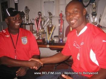 Jimmy Jean-Louis at L'Athletique D'Haiti