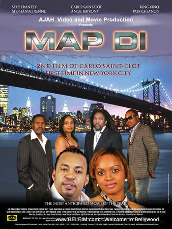 Map Di Poster