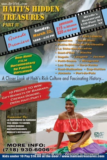 Haiti's Hidden Treasures 2 Premiere Flyer