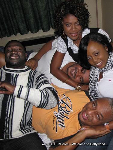 haitian movie stars easter 2009 nyc belfim