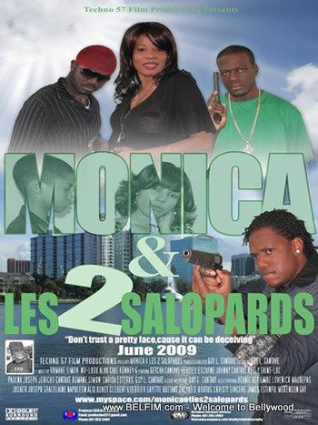 Monica & Les d Salopards Movie Poster