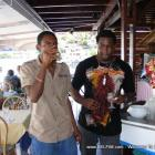 Mora etienne and Ronald Azor in St Martin