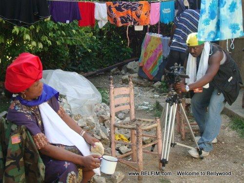 Matlot Movie - Filming in Haiti