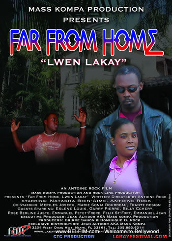Far From Home / Lwen Lakay official movie poster