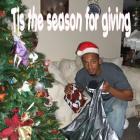Tony Delerme Christmas Photo