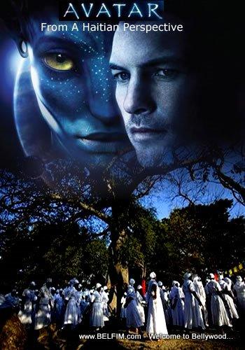 Avatar Movie Poster - Haitian Version