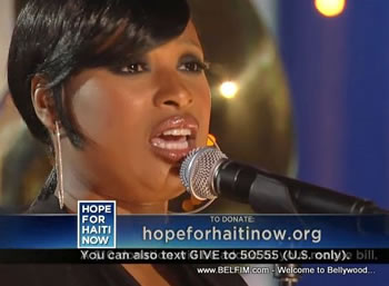 Jennifer Hudson - Hope For Haiti Now Telethon