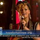 Rihanna - Hope For Haiti Now Telethon