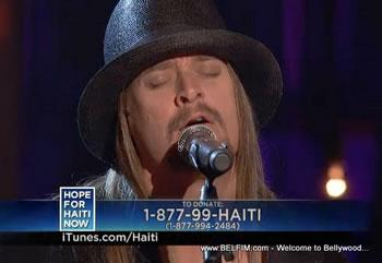 Kid Rock - Hope For Haiti Now Telethon