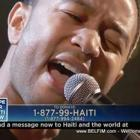 John Legend Hope Haiti Telethon