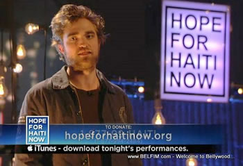 Robert Pattinson - Hope For Haiti Now Telethon