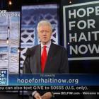 Bill Clinton - Hope For Haiti Now Telethon