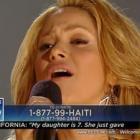 Shakira - Hope For Haiti Now Telethon