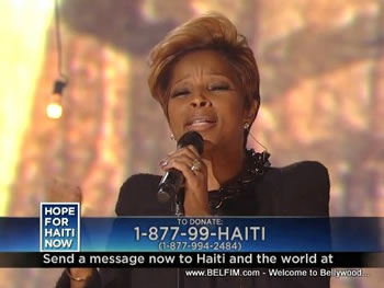 Mary J. Blige - Hope For Haiti Now Telethon