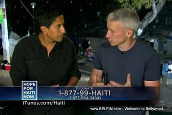 Sanjay Gupta, Anderson Cooper - Hope For Haiti Now Telethon