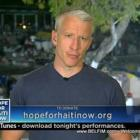 Anderson Cooper - Hope For Haiti Now Telethon
