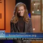 Nicole Kidman - Hope For Haiti Now Telethon