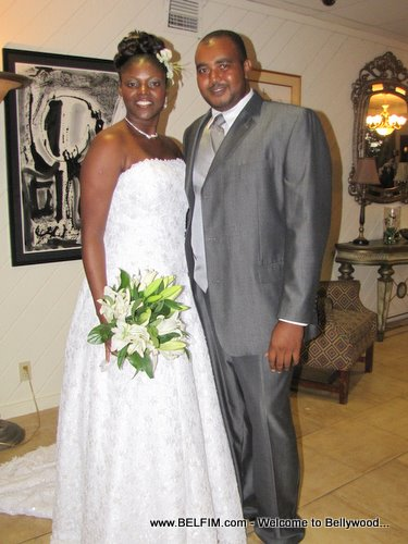 Michelle Judith Jeudy Wedding Photo